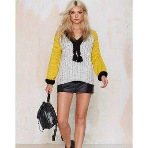 ON HOLD $180 For Love & Lemons Billy Sweater